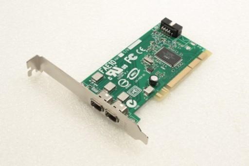 Dell H924H 2 Port FireWire PCI Adapter Card FAE10