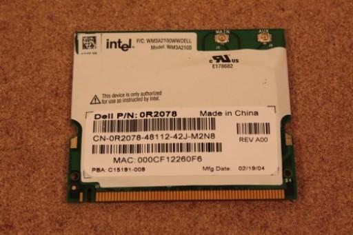 Dell Latitude D400 WiFi Wireless Card 0R2078