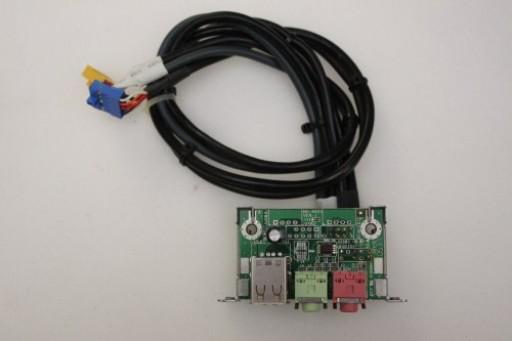 Medion MT7 USB Audio Ports Panel MS-4021