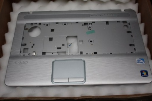 Sony VAIO VGN-NW Series Palmrest Touchpad Silver 012-032A-1378-C