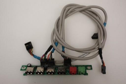 Acer Aspire M3802 USB Audio Board Ports Panel MG-313 M.2Q012A600-000