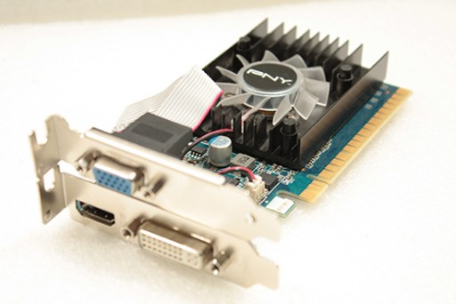 nVidia GeForce 8400GS 512MB HDMI DVI VGA PCI Express Low Profile Graphics Card