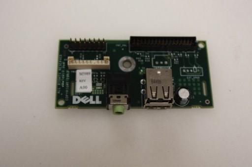 Dell Dimension 6400 USB Audio Board Ports Panel M5989