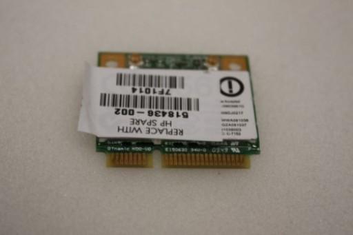 HP Compaq CQ61 WiFi Wireless Card 518436-002
