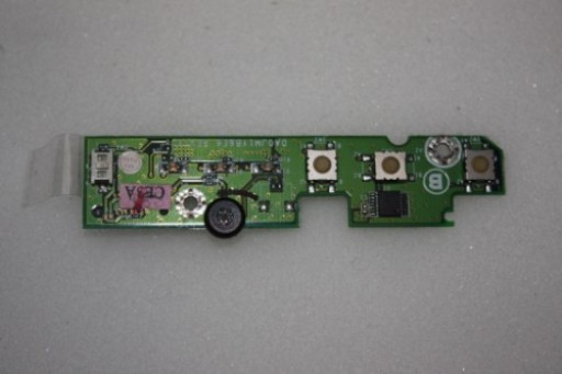 Dell Latitude D600 Power Button MIC Microphone & LED Board DA0JM1YB6E6