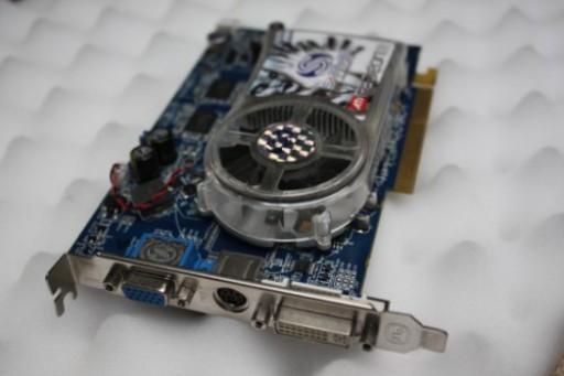 Sapphire Radeon X1650 Pro 256MB GDDR3 AGP Video Card