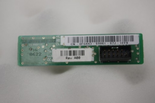 FG443 Dell Optiplex 745 LED Front Panel Board JG169