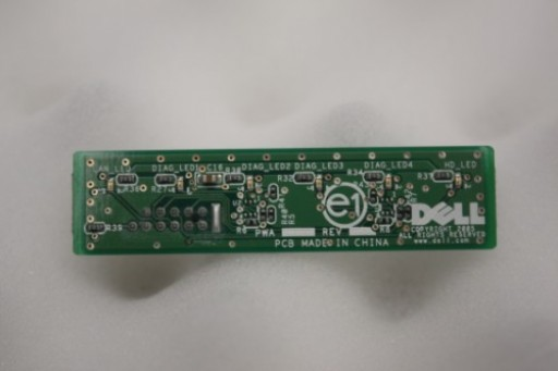 YN033 Dell Optiplex 755 LED Front Panel Board HU389