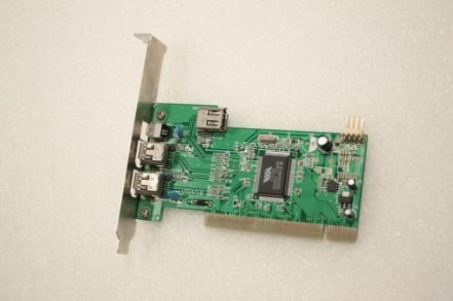 VIA FireWire IEEE1394 Controller VT5471B 3port-ext  2*6pin+1*4pin,1port-int 1*6pin