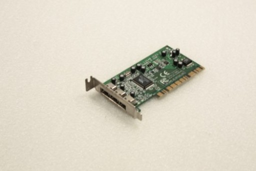 VIA VT6306 Low Profile PCI 3 IEEE 1394 3 Port Firewire TR-1394W Ver:2.2 Adapter Card