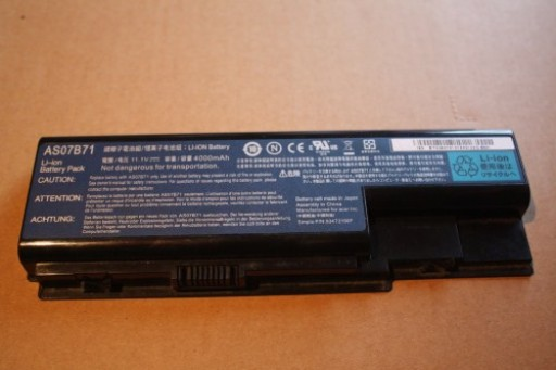 Acer Aspire 6920 6920G Li-ion Battery AS07B71