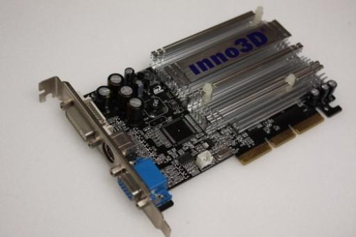 Inno3D GeForce FX 5500 AGP 128MB AGP DVI Graphics Card