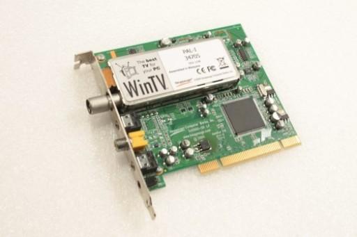 Hauppauge WinTV PAL-I 34705 REV G298 TV Tuner PCI Card 340000-07