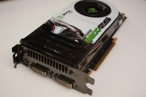 XFX GeForce 8800 GTS 530MHz 640MB GDDR3 Dual DVI PCI-E Graphics Card