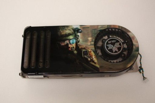 nVidia GeForce 8800 GTS Cooling Heatsink Fan