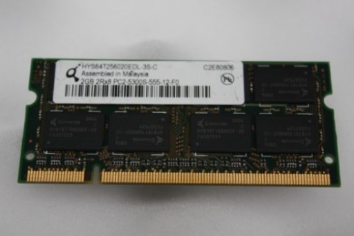 2GB Infineon PC2-5300 667MHz DDR2 Sodimm Laptop Memory HYS64T256020EDL-3S-C