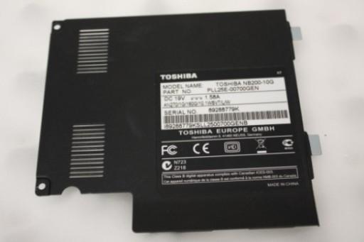 Toshiba Mini NB200 Hard Drive Door Cover AM080000100