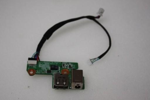 Compaq Presario V6000 DC Jack USB Ports Board DA0AT8TB8F2