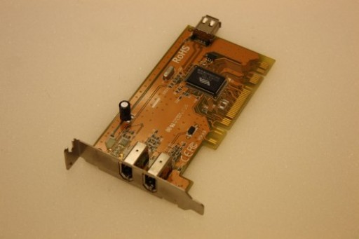 VIA VT6306 PCI 3 IEEE 1394 Firewire Ports Adapter Card