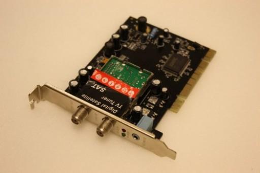 SDMC DM1105N DVB-S Digital Satellite TV Tuner PCI Card