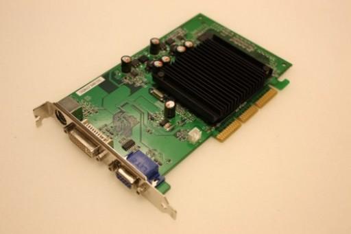 Peak GeForce 6200 256MB AGP DVI VGA Graphics Card