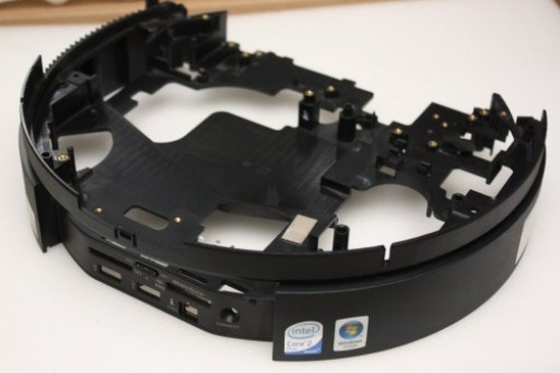 Sony Vaio VGX-TP3Z Front I/O Bracket Cover 3-296-413