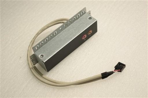 eMachines E4034 Front Audio Panel 2JA26-013