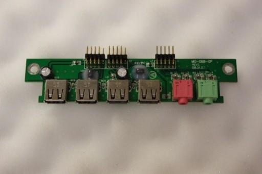 Acer Aspire 1610 USB Audio Board Ports MG-068-GP