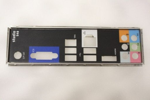 Dell Studio 540 MT I/O Plate Shield