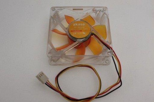Akasa PC Case Cooling Fan 80x25mm AK-182-L2B 3Pin