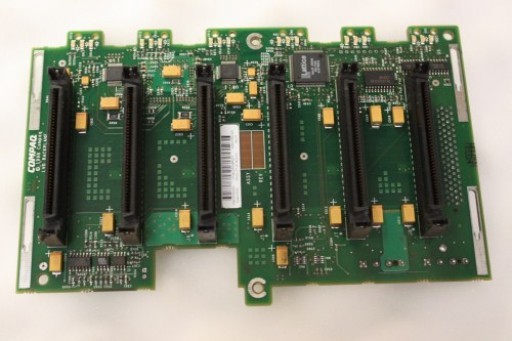 HP Compaq ProLiant ML370 SCSI Backplane Board 387089-001 010063-001