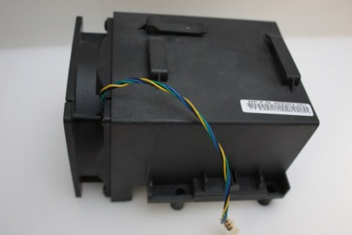 HP Compaq dc5750 MT CPU Heatsink Shroud Fan Assembly 409303-001