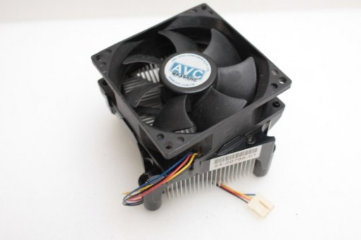 AVC CPU Heatsink Fan 4 Pin Socket 775 LGA775 H6356NC