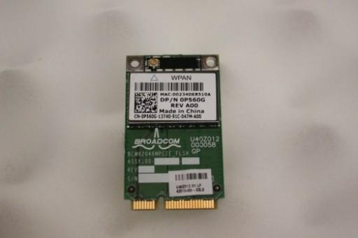 Dell Latitude E6400 Wireless Bluetooth Card P560G 0P560G