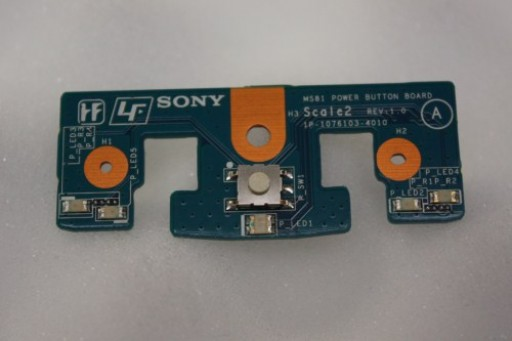 Sony Vaio VGX-TP Series Power Button LED Lights Board MS81 1P-1076103-4010