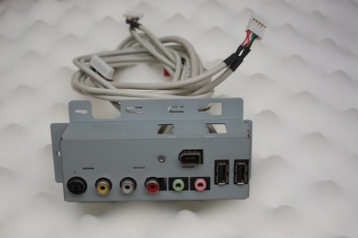 HP Pavilion M1000 Front I/O USB Firewire Audio Video Panel NS 5069-6720
