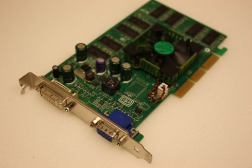 Dell nVidia Quadro FX 500 128MB AGP DVI VGA Video Card
