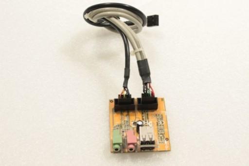 Fujitsu Siemens Esprimo E2500 USB Audio Ports Board C3K6B11162