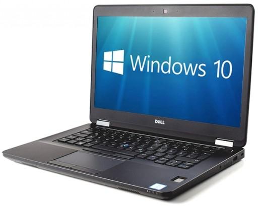 "Dell Latitude E5470 14"" Laptop - Intel Core i5-6200U 8GB DDR4 256GB SSD HDMI WebCam WiFi BT Fingerprint Windows 10 Pro"