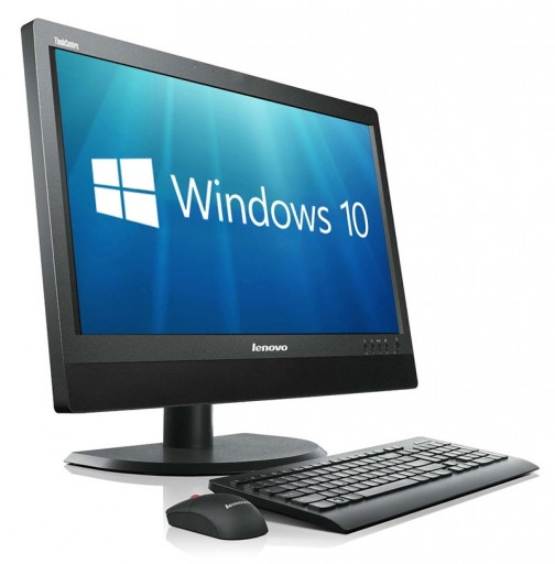 "Lenovo ThinkCentre Edge 92z 21.5"" All-In-One Desktop PC (1920x1080 Quad Core i5-3470 8GB 500GB DVDRW WiFi Windows 10 Professional 64Bit)"