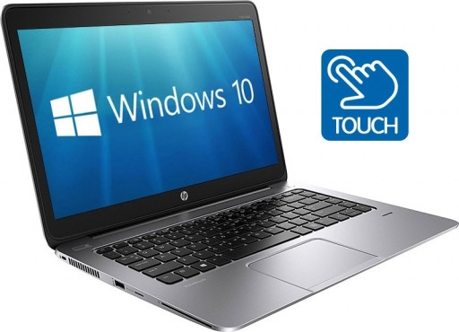 HP EliteBook Folio 1040 G2 14-inch Touchscreen Ultrabook PC (1920x1080, Core i7-5600U 8GB 512GB SSD WiFi LTE 4G BT NFC Webcam Windows 10 Professional 64-bit)
