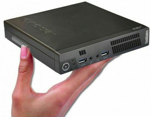 Lenovo ThinkCentre M93p Tiny USFF Desktop PC - Quad Core i5-4590T 8GB 256GB SSD WiFi Windows 10 Pro Desktop PC Computer