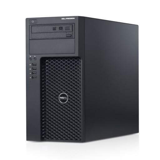Dell Precision T1700 Workstation Quad Core Xeon E3-1220 v3 16GB 256GB SSD DVDRW Windows 10 Professional 64bit