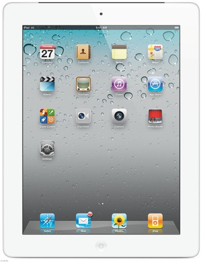 "Apple iPad 2 16GB Wi-Fi 3G Unlocked 9.7"" White UK A1395 Tablet - Grade A (Boxed)"