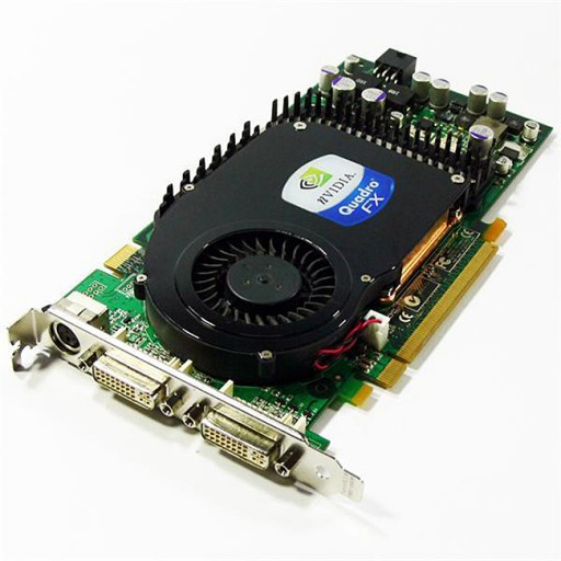 nVidia Quadro FX3450 SLi 256MB DVI PCI-e Graphics Card