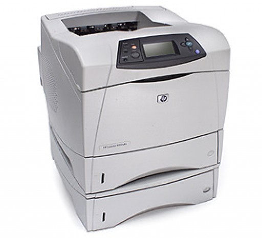 HP LaserJet 4350dtn - Printer - B/W - laser - A4 - 1200 dpi x 1200 dpi - 55 ppm - 1100 sheets - Duplex, Ethernet, Parallel, USB