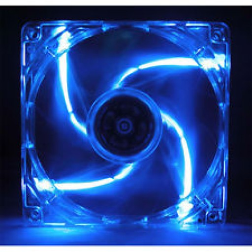 Cooler Master A12025-12CB-5BN-L1 120mm x 25mm Blue LED 3Pin Case Fan