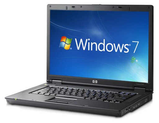 "HP nx7300 Business Notebook Core 2 Duo T7200 2.0GHz 1GB 120GB DVD±RW 15.4"" Windows 7 Laptop"