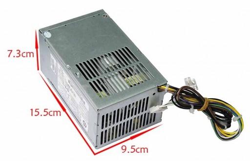 HP 600 800 G1 SFF PCC002 702307-001 702455-001 240W PSU Power Supply