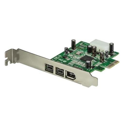 StarTech 1394B 1934A Port 2B 1A PCIe Low Profile FireWire PEX1394B3